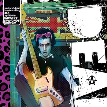 Killer Flashback Sets the Stage for Punks Not Dead: London Calling #3