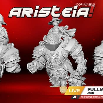 Fullmetal Kozmo is Bringing Heavy Metal Thunder to Aristeia