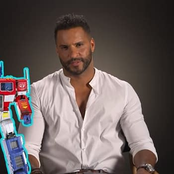 American Gods: Ricky Whittles Optimus Prime Obsession More Than Meets The Eye [VIDEO]