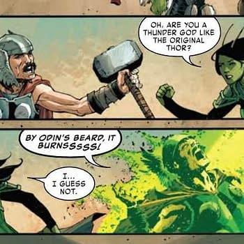 The Deaths of Thor Captain Marvel and Captain America &#8211 Old Man Quill #4 Preview (Spoilers)