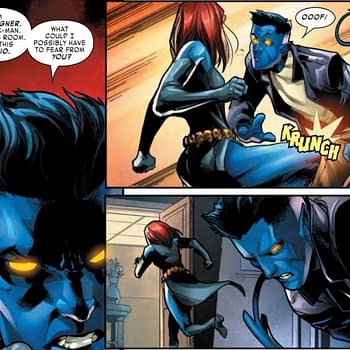 Who Wins in a Fight Nightcrawler or Mystique Amazing Nightcrawler #3 Preview