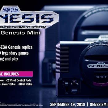 Genesis Mini: Ghouls n Ghosts Golden Axe Street Fighter II Revealed