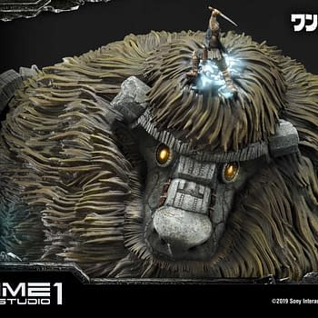 Shadow of the Colossus First Colossus Gets a Statue From Prime 1 Studios