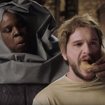 Leslie Jones Lives Game of Thrones Fantasy with Kit Harington in SNL Promo