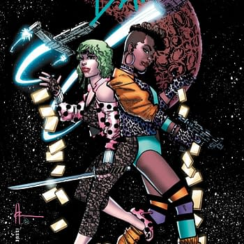 Millar Scalera and Chaykin Make Space Bandits for Netflix with 75 Cent Variant