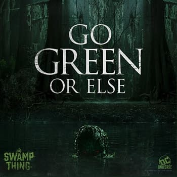 Swamp Thing: Not Easy Being Green Tell That to The Floronic Man