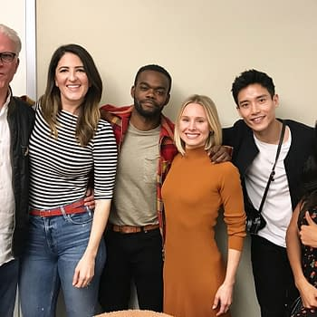 The Good Place: Holy Forking Shirtballs Season 4 Table Reads Start Benches