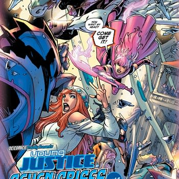 Aint No Party Like a Gemworld Wedding Party in Tomorrows Young Justice #4