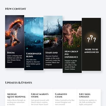 Pearl Abyss Reveals the Black Desert Online 2019 Road Map