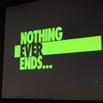 DC Comics Don't Mention Doomsday Clock at Diamond Retail Summit Presentation