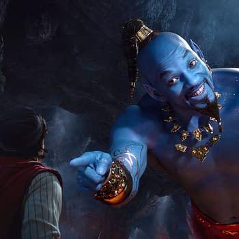 Will Smith Guy Ritchie Talk Genie from Aladdin