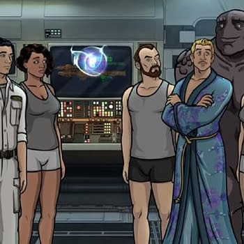 Archer: 1999: AI Malory Robo-Krieger Rock Monster Pam Meet This Seasons Crew [VIDEO]