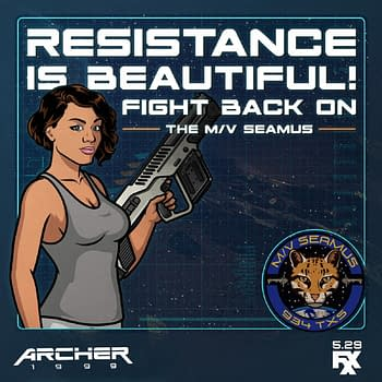 Archer: 1999: On the Benefits of Not Yelling 2 Good Looking Heads and CryoFreeze [VIDEO]