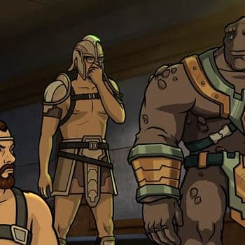 Archer: 1999 Preview: Some Advice Avoid Arousing Giant Rock Monsters [TEASER]