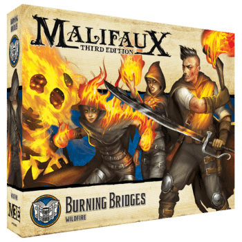 "Wyrd Games teases ""Burning Bridges"" Minis for Malifaux 3E"