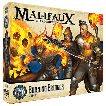Wyrd Games teases Burning Bridges Minis for Malifaux 3E
