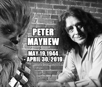 Peter Mayhew Gentle Giant Behind Star Wars Chewbacca Passes at 74