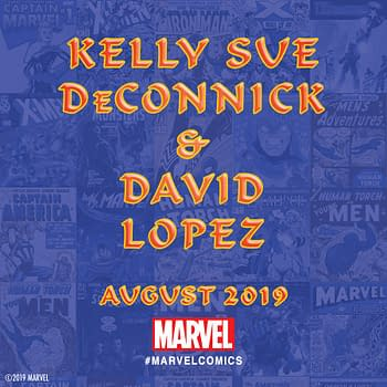 Kelly Sue DeConnick Returns to Marvel for Marvel #1000 with Artist David Lopez