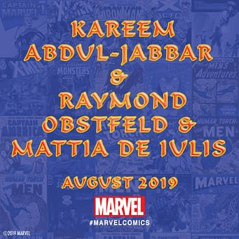 Marvel Scores Basketball Legend Kareem Abdul-Jabbar for Marvel #1000 Anthology