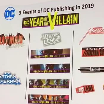 Which September and October DC Comics Will be Year Of The Villain
