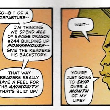 Erik Larsen Vs The Comics Industry (Again) In Savage Dragon #244