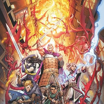 IDW Announces Dungeons &#038 Dragons: Infernal Tide at D&#038D Live 2019