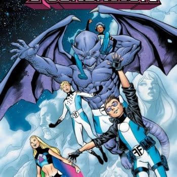 Jeremy Whitley and Wil Robson Launch a New Future Foundation Series in August