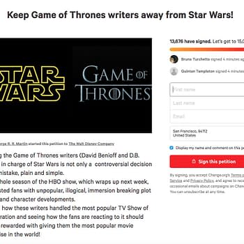 2 Petitions to Remove Game of Thrones Writers from Star Wars Launch