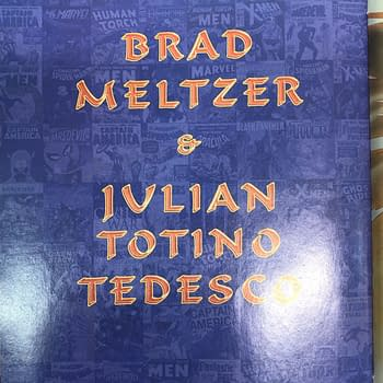 Brad Meltzer Writes a Marvel Comic For Julian Totino Tedesco in August