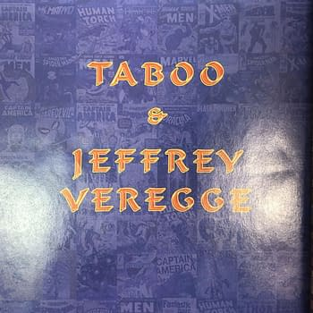 The Black Eyed Peas Taboo and Jeffrey Veregge on a New Marvel Comic For August
