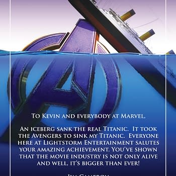 James Camerons Strange Avengers: Endgame Sinking Titanic Congrats