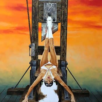How Joe Jusko Painted the Cover for Vampirella #1&#8230