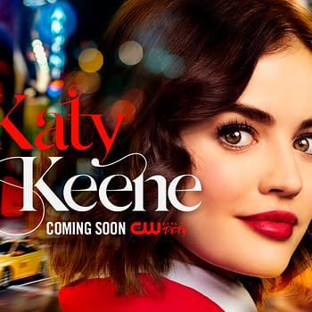 Katy Keene: Lucy Hale Canine Companion Visit CW Series Writers Room