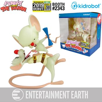 EXCLUSIVE: Entertainment Earth Pinky and the Brain Kidrobot Figure for SDCC 2019