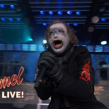Slipknot Debuts New Masks Song Unsainted on Jimmy Kimmel Live [VIDEO]