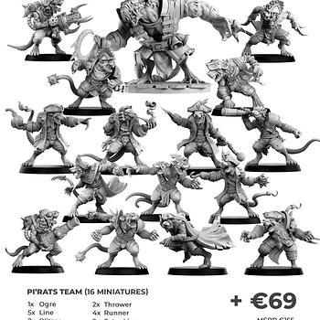 Punga Miniatures Kicks off PiRats on Kickstarter