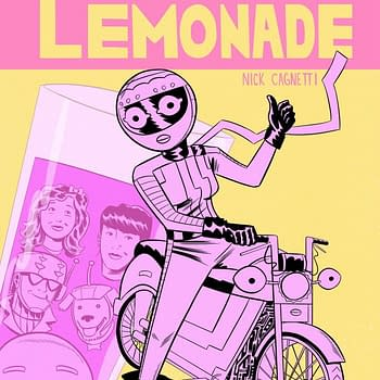 Its Alive Announces New Series Pink Lemonade by Nick Cagnetti
