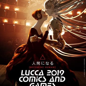 Separated at Birth: Lucca Comics 2019 Poster by Barbara Baldi