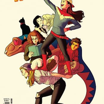 Love in the Tampon Aisle in Runaways #21 (Preview)