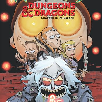 Rick and Morty D&#038D Chapter 2 Comic Unveiled at D&#038D Live 2019