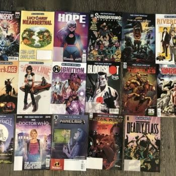 So How Much Are Free Comic Book Day 2019 Titles Selling For?