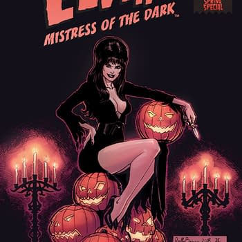 Elvira Spring Special &#8211 The Mistress of the Dark Gets Silly in This One-Shot