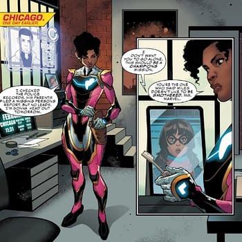 Maybe Spider-People and Iron-People Shouldnt Be Friends Ironheart #6 Preview