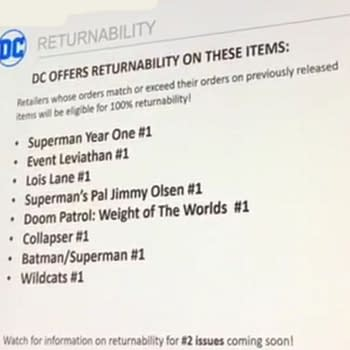 More DC Comics Being Made Returnable Announced at Diamond Retail Summit