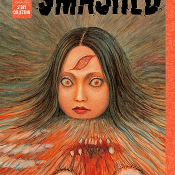 Cover from preview images of Junji Ito's Smashed