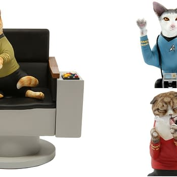 Chronicle Announces New Line of&#8230Star Trek Cat Statues