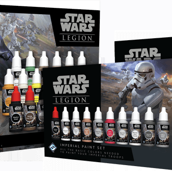 FFG Teams up with Army Painter for Star Wars: Legion Paint Sets
