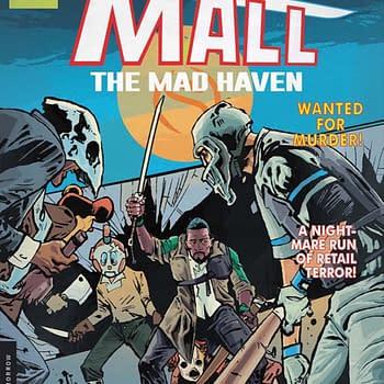 Michael Moreci Gary Dauberman and Zak Hartong Launch The Mall at Vault Comics