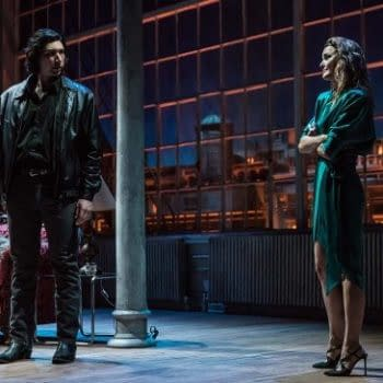 """""""Burn This"""" With Kerri Russell and Adam Driver: A Broadway Time Capsule of 1980s New York City"""
