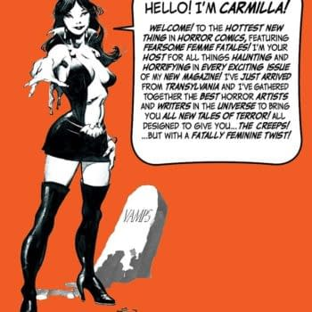 Separated At Birth: Vampirella vs Carmilla